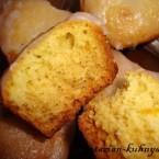 Постные кексы с апельсиновым соком