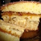 Торт со сметанным кремом без яиц