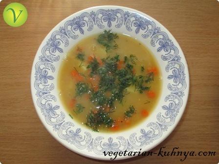Гороховый суп с клёцками
