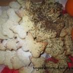 Веганское апельсиновое печенье