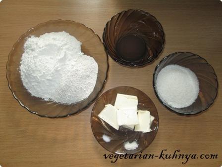 Ингредиенты для ржаного печенья без яиц