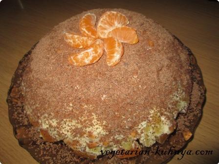 Украсить торт без выпечки