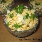 Салат с кукурузой и картофелем