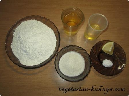 Ингредиенты для печенья из рассола