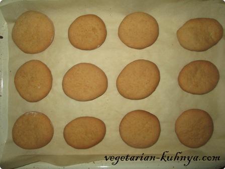 Выпекать печенье из рассола