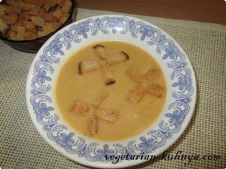 Суп-пюре с тыквой и картофелем