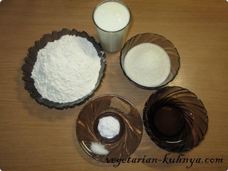 Ингредиенты для бисквитного тесто без яиц