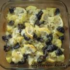 Картофель с черносливом в духовке