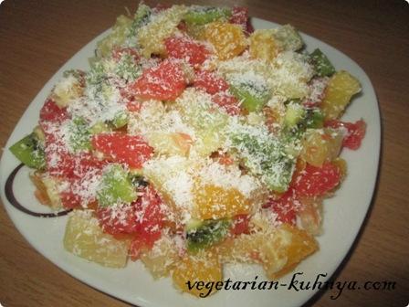 Салат из цитрусовых