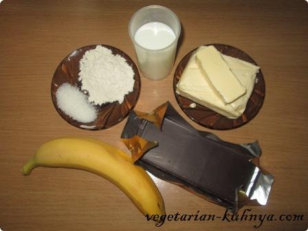 Ингредиенты для шоколадно-масляного крема без яиц