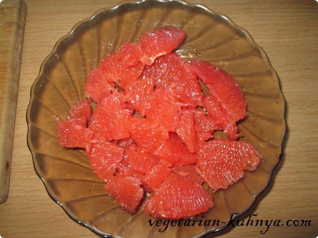 Грейпфрут очистить