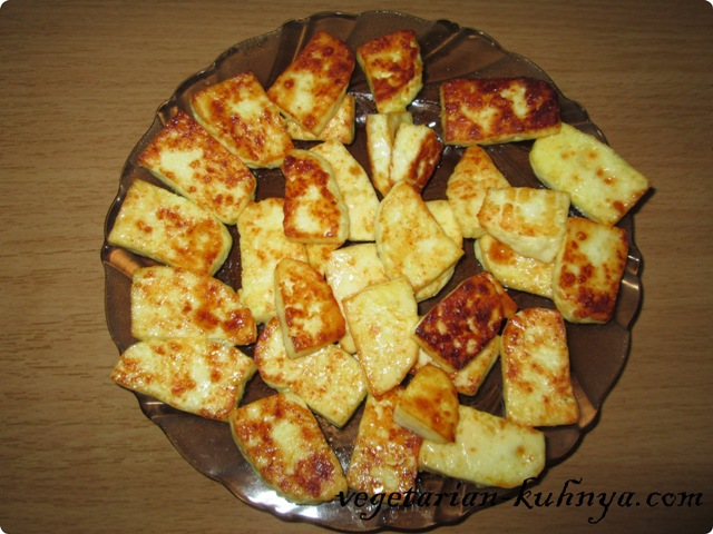 Адыгейский сыр обжарить