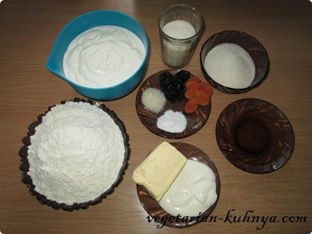 Ингредиенты для Медовика без яиц