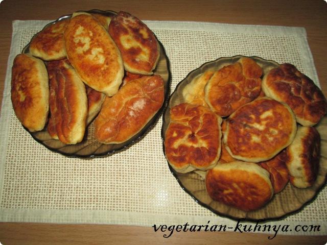 Пирожки без яиц на кефире