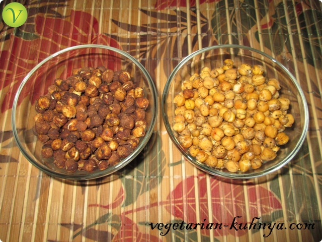 Вкусные орешки из нута