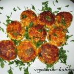 Сырно-морковные котлеты