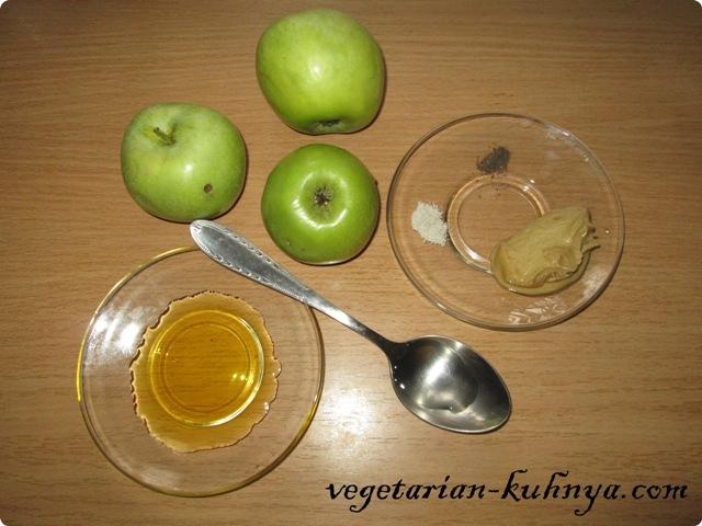 Ингредиенты для яблочно-горчичного соуса