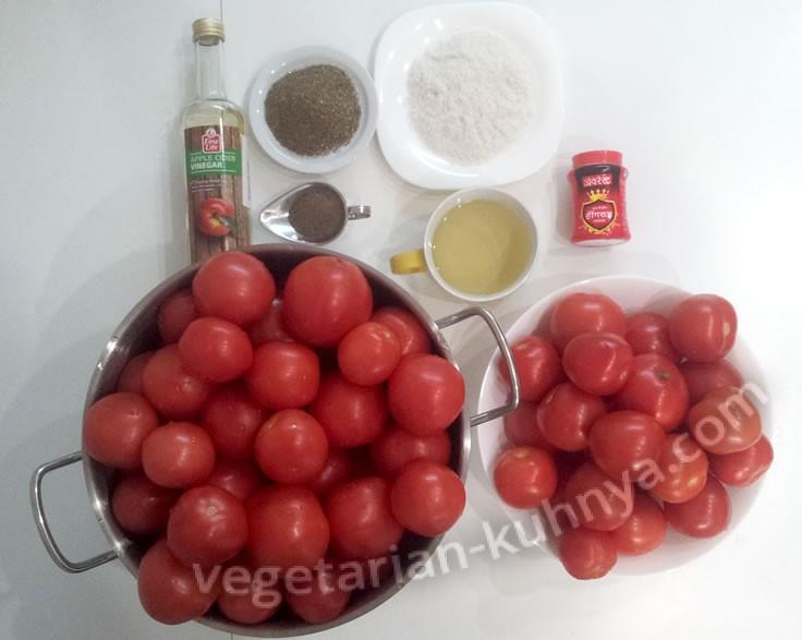 ингредиенты томатной пасты